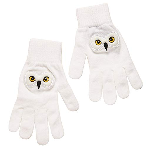 Harry Potter Hedwig's Face Winter Gloves