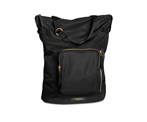 TIMBUK2 Convertible Backpack Tote Bag, Jet Black