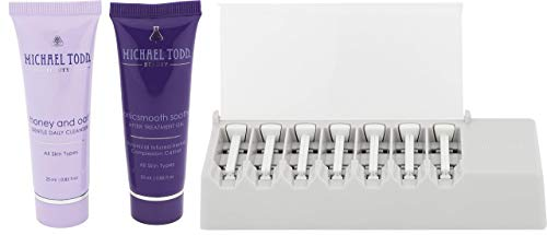 Michael Todd Beauty - Sonicsmooth Replacement Kit for At-Home Dermaplaning - 7 Replacement Safety Edges + Cleanser + Serum
