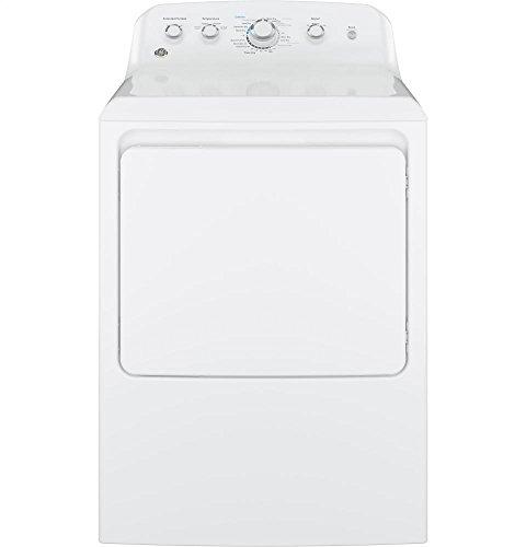 GE GTD42GASJWW Aluminized Alloy Drum Gas Dryer, 7.2 Cu. Ft. Capacity, White,