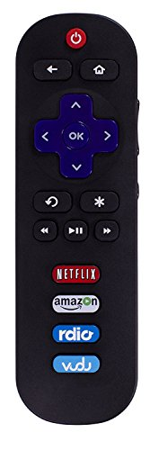 New EN3A32 Remote Control Replaced for HISENSE Roku TV LTDN40K25DWUS 32H4C 40H4 40H4C 40H4C1 40H40C 48H4 48H4C 48H4C1 48H4C2 50H4C