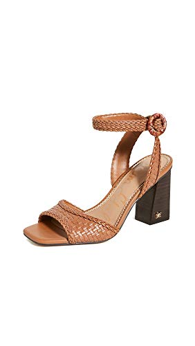Sam Edelman womens Danee Heeled Sandal Saddle 7 M