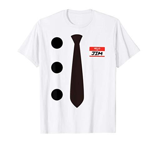 3 Hole Punch Jim Halloween Costume T-Shirt