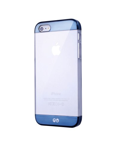 iWalk BCT002i5-007A Protective 2 Tone Case for iPhone 5 - Retail Packaging - Dark Blue