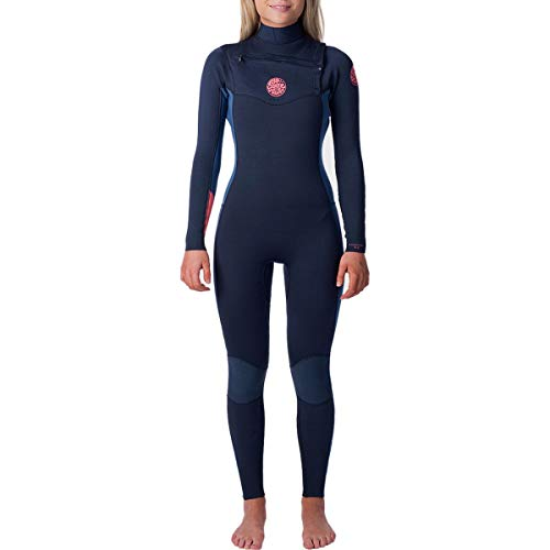 Rip Curl Dawn Patrol Wetsuit | Women's Neoprene Full Suit Chest Zip Wetsuit for Surfing, Watersports, Swimming, Snorkeling | Designed for Durability | 4/3mm