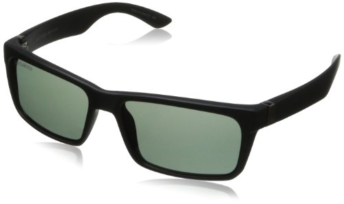 Dot Dash Lads Polarized Wayfarer Sunglasses, Black Satin, 56 mm