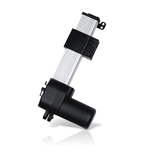 PROGRESSIVE AUTOMATIONS Track Linear Electric Actuator 12V (40 in. 900 lbs.) Innovative Design & Durable Stroke. for Home, Office, Hospitality, Robotics, Cabinetry, Homecare beds. PA-18-40-900