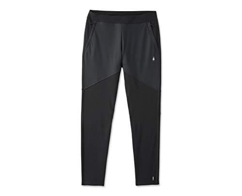 Smartwool Merino Sport Fleece Pant - Men's Wool Performance Bottoms Black Medium