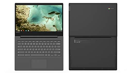 2019 Lenovo Chromebook S330 14' HD LED Backlight Display Light and Fast Laptop PC, Quad-Core Mediatek MT8173c Processor, 4GB RAM, 32GB eMMC SSD, HDMI, Bluetooth, USB 3.0, Chrome OS, Black (Renewed)