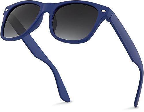 Retro Rewind Kids Sunglasses for Boys Girls Age 3-12 - Shatterproof Rubberized Frame UV400 Toddler Children Sun Glasses