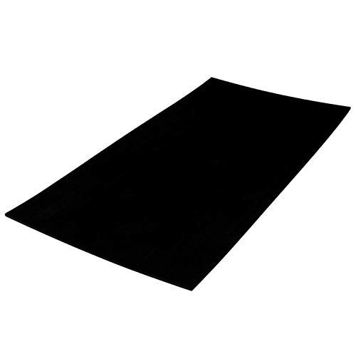 Castaway Customs Sheet SeaDek Material | 40' x 80' All Black Material | Cut to fit | Customized Flooring | Comfort Step | Boat Padding | Non Absorbent