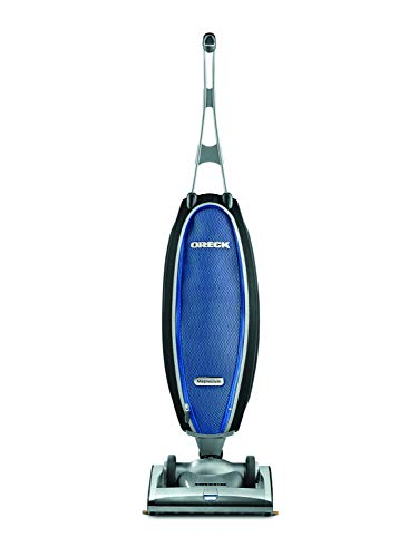 Oreck Magnesium RS Swivel-Steering Upright Vacuum Cleaner, with HEPA Filter Bag, Lightweight, LW1500RS, Blue/Black