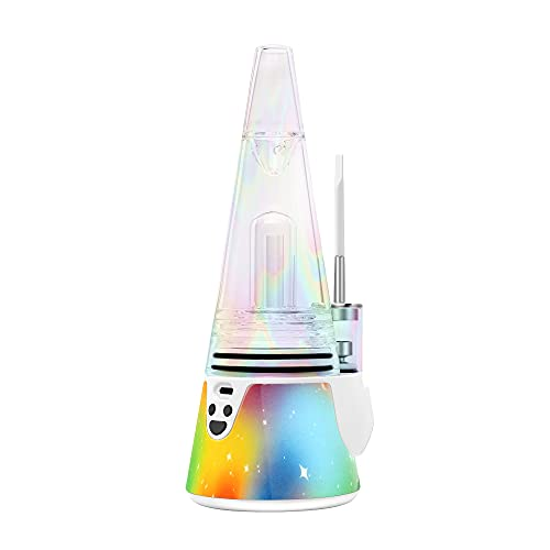 Leaf Buddi Wuukah Air Shifter Mountain Peak Electronic Rig with Extra Glass Accessor Peak 3-Pack (Rainbow Colors)