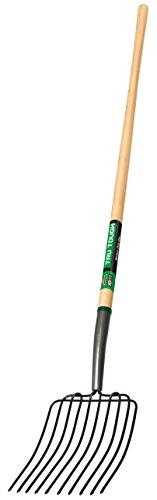 Truper Handle 30331 Tru Tough 54-Inch Manure/Bedding Fork, 10-Tine, Long Hand