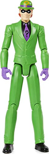 Batman 12-inch The Riddler Action Figure, Kids Toys for Boys Aged 3 and up