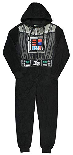 Star Wars Darth Vader Costume Adult Union Suit Small Black
