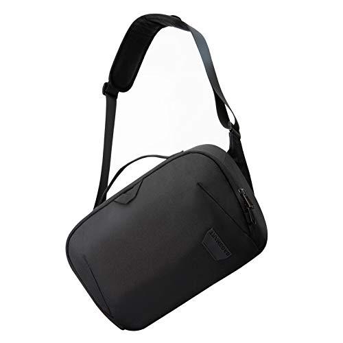 Camera Bag,BAGSMART SLR DSLR Camera Sling Bag Purse Crossbody Bag with Padded Shoulder Strap Water Resistant Anti-Theft Camera Shoulder Bag for Women Men,Black