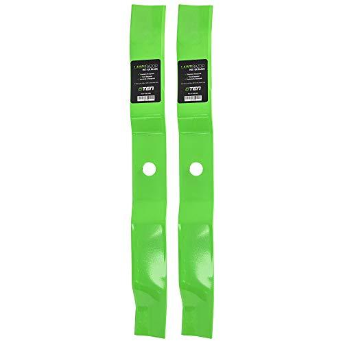 8TEN LawnRAZOR Mulching Blade 42 inch Deck for Murray Scotts Stanley 4951003MA 095100E701 0951000MA 95100E701 2 Pack