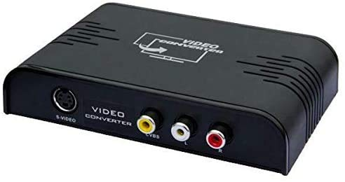 OREI RCA/S-Video Composite & HDMI to HDMI 50/60 Hz Multi-System PAL/NTSC Analog to Digital Audio Video Converter - Dual Voltage (XD-901), Black