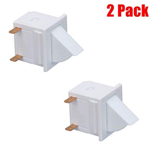 (2 Pack) EXP18806 Refrigerator Door Light Switch Replaces C3680310, W11384469, AP6893312, WP1118894, 18806, PS12728638, WPC3680310