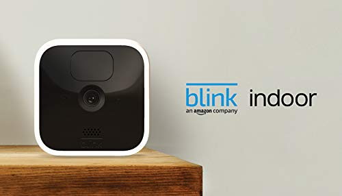 Blink Indoor – wireless, HD security camera with two-year battery life, motion detection, and two-way audio – 3 camera kit