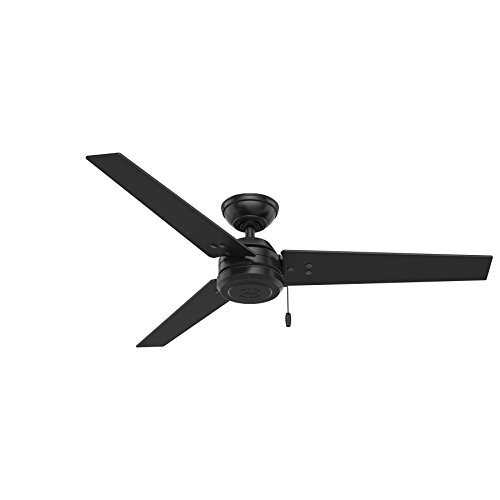 Hunter Fan Company 59264 Hunter 52' Cassius Matte Black Ceiling Fan