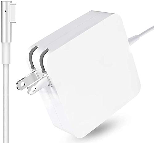 Mac Book Pro Charger, AC 60W L-tip Power Adapter, Replacement for Mac Book Pro 13-inch(Before Mid 2012 Models) (AC 60W L-tip)
