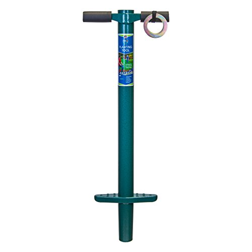 ProPlugger 5-IN-1 Lawn Tool and Garden Tool, Bulb Planter, Weeder, Sod Plugger, Annual Planter, Soil Test