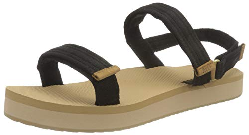 Reef Women's Flip Flop Slide Sandal, Bla, 8 us