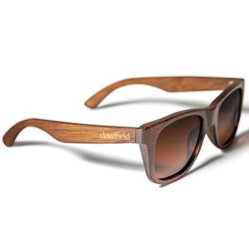 Wood Sunglasses Polarized for Men and Women - Bamboo Wooden Sunglasses Sunnies - Fishing Driving Golf woodies westwood treehut texas paul frank kreed pirana hawkers blenders sunski aunglasses trendy goodr gooders hawkers diff hu blender