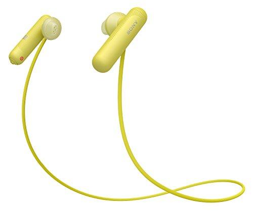 Sony WI-SP500 Wireless in-Ear Sports Headphones, Yellow (WISP500/Y)