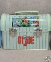 GI Joe Small Dome Lunchbox - filled with candy - cellophane wrapped - 2000