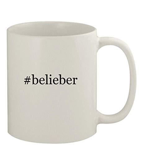#belieber - 11oz Ceramic White Coffee Mug, White