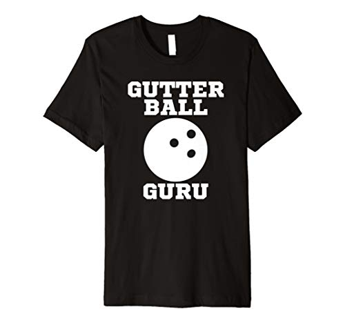 Gutter Ball Guru Funny Bowling Strike Team T Shirt