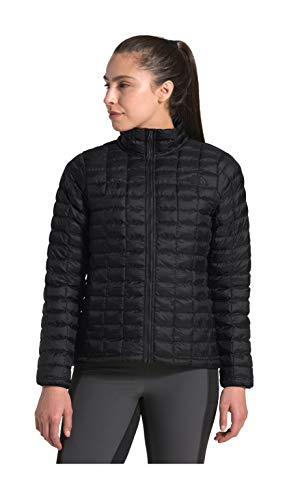 The North Face Women's Thermoball Eco Insulated Jacket - Fall or Winter Coat, TNF Black Matte, M