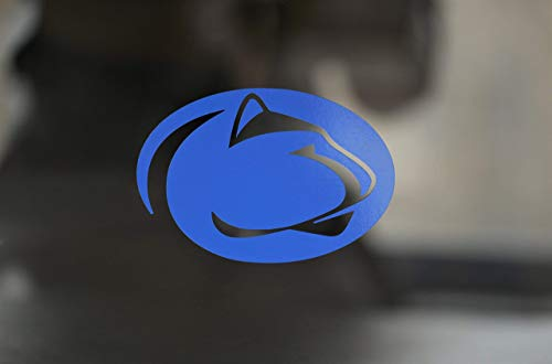 PENN STATE LIONS Die-Cut 3' Wide Vinyl Auto Decal, Laptops or Yeti with the Option to buy a Set of 2 or a Single
