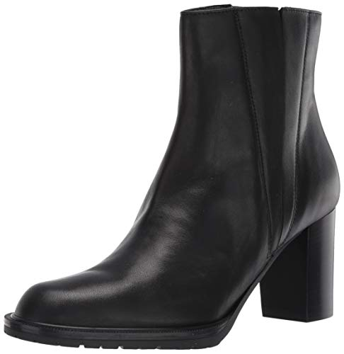 Aquatalia Women's Ankle Bootie Boot, Black/Black, 6.5