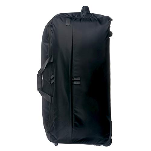 Lipault - 0% Pliable Foldable Wheeled Duffel Bag 78/29-30' Luggage for Women - Black