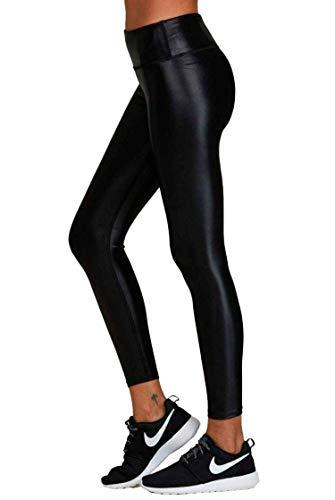 Noli Yoga Liquid Legging-Black-L Womens Sparkle Yoga Leggings Black