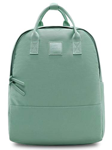 HotStyle 255s Cute Backpack for Girls & Women, Simple Book Bag for School, Travel, College, fits 14-inch Laptop, Turquoise Green
