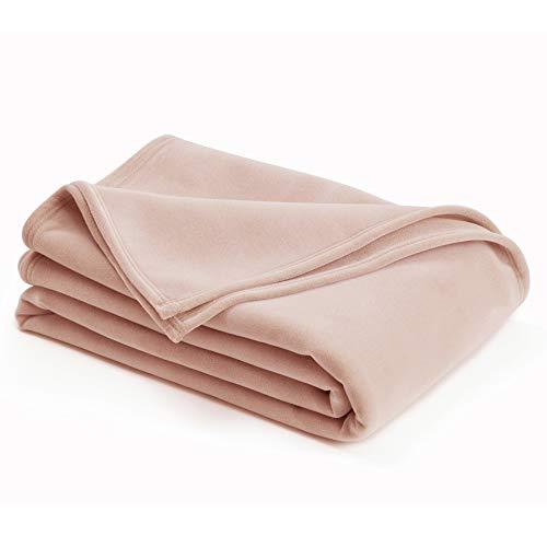 Vellux Original Blanket, Full/Queen 90 x 90, Blush
