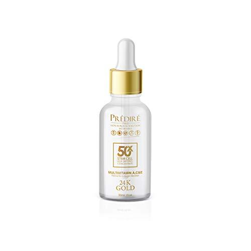 Predire Paris-Premium Multi-Vitamin A, C, E Retinol & Collagen Booster 24K Gold Serum