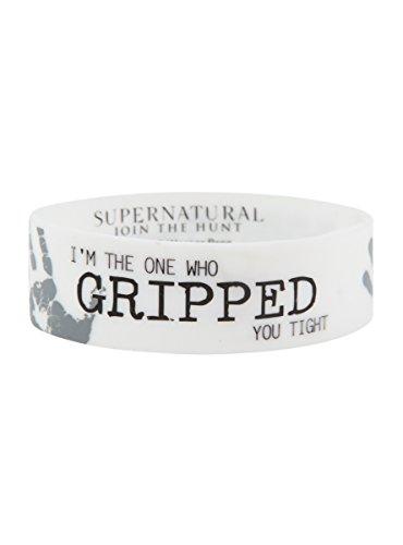 Hot Topic Supernatural Perdition Rubber Bracelet