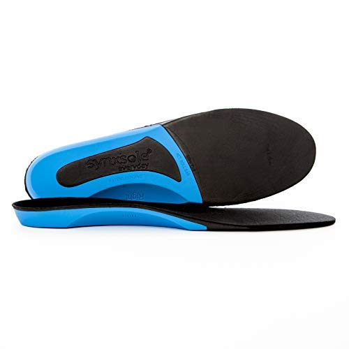 Plantar Fasciitis Insoles by Synxsole | As Seen On Shark Tank | Arch Support, Improve Alignment, Reduce Tissue Stress |Small (W 8-9.5 | M 4-6)