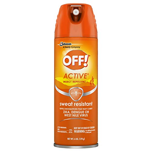 OFF! Active Insect Repellent, Sweat Resistant 6 oz ( Pack of 12)