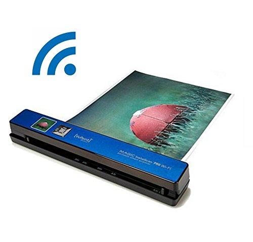 VuPoint Solutions Magic InstaScan PRO Wi-Fi Portable Smart Scanner, Blue (PDSWF-ST48BU-VP)
