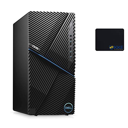 Dell G5 Gaming Desktop, Intel Core i7-10700F, 16GB DDR4 Memory, 1TB PCIe Solid State Drive, NVIDIA GeForce GTX 1660 Ti, WiFi, HDMI, KKE Mousepad, Wired Keyboard&Mouse, Windows 10