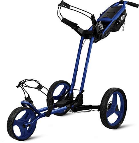 Sun Mountain Pathfinder 3 Golf Push Cart Blue/Black