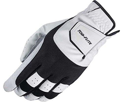 Top Flite Men's Gamer Golf Glove - White