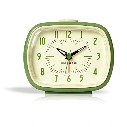 Kikkerland Retro Alarm Clock, 1 EA, Green